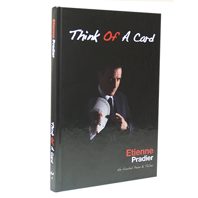 Think of a Card by Etienne Pradier Boek (B0304)