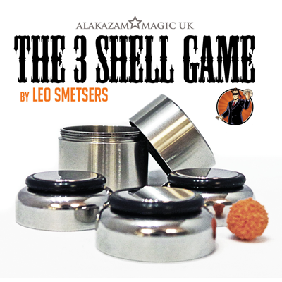Three Shell Game (DVD and Gimmicks) by Leo Smetsers (3707)