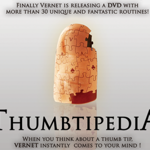 Thumbtipedia DVD and Gimmick by Vernet (DVD953)