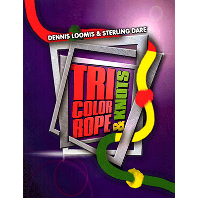 Tri Color Ropes and Knots by Sterling Dare (3316-w8)
