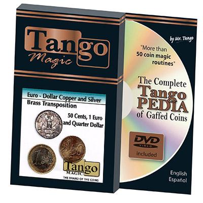 Euro-Dollar Silver/Copper/Brass Transposition (3804)