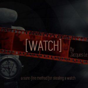 Watch by Jacques Le Sueur DVD & Booklet