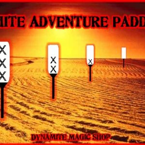 White Adventure Paddle & Video (1770)