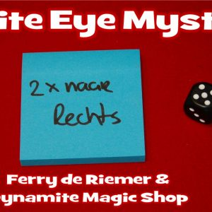 White Eye Mystery & Video by Ferry de Riemer (4279-W9)