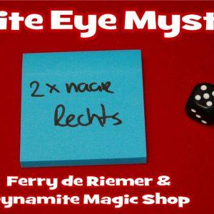 White Eye Mystery & Video by Ferry de Riemer (4279-W9)
