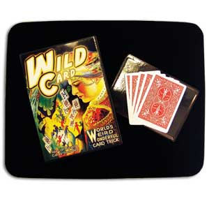 Wild Card Trick met DVD (DVD563)