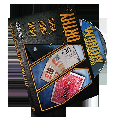 Worthy (DVD & Gimmicks ) by Chris Webb (DVD806)