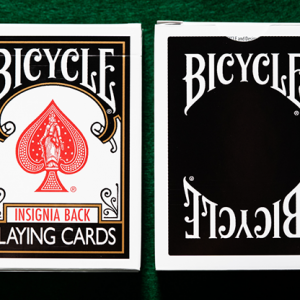 Bicycle Insignia Back Playing Cards ZWART (5099)
