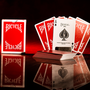 Bicycle Insignia Back Playing Cards ROOD (5100)