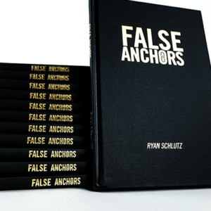 False Anchors Set Book and Gimmick by Ryan Schlutz (B0354)