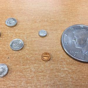 Mini US Coins Set 6 pcs