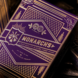 Monarch Royal Edition Purple Playing Cards by Theory11