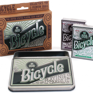 Bicycle Retro Tin Playing Cards by US Playing Card Co (5107)